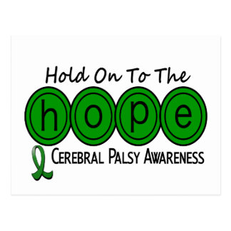 Cerebral Palsy HOPE 6 Postcard
