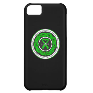 Cerebral Palsy Hope Intertwined Ribbon iPhone 5C Cover