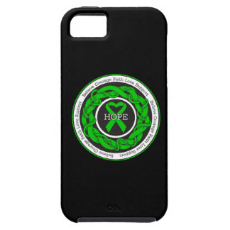 Cerebral Palsy Hope Intertwined Ribbon iPhone 5 Covers