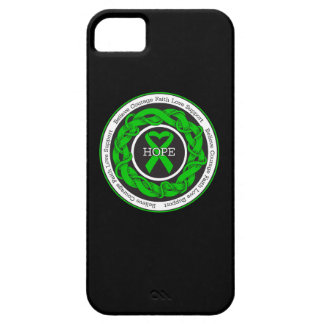 Cerebral Palsy Hope Intertwined Ribbon iPhone 5 Cover