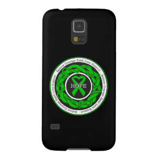 Cerebral Palsy Hope Intertwined Ribbon Galaxy S5 Covers
