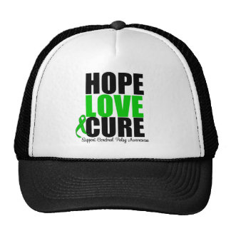 Cerebral Palsy Hope Love Cure Trucker Hat