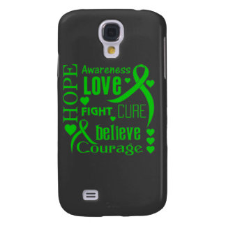 Cerebral Palsy Hope Words Collage Galaxy S4 Covers