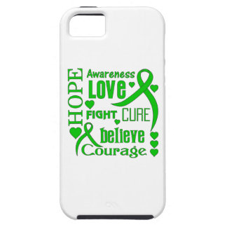 Cerebral Palsy Hope Words Collage iPhone 5 Cases