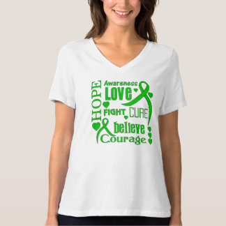 Cerebral Palsy Hope Words Collage Shirt