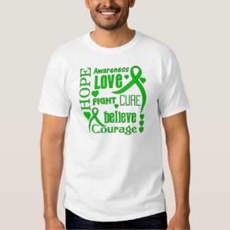 Cerebral Palsy Hope Words Collage T Shirt