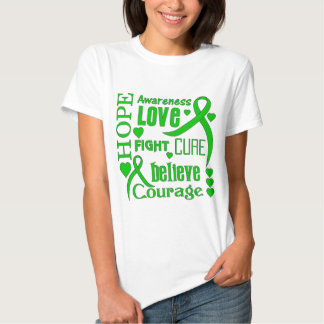 Cerebral Palsy Hope Words Collage Tees
