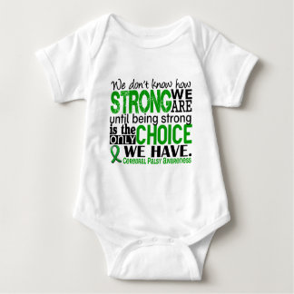 Cerebral Palsy How Strong We Are Baby Bodysuit