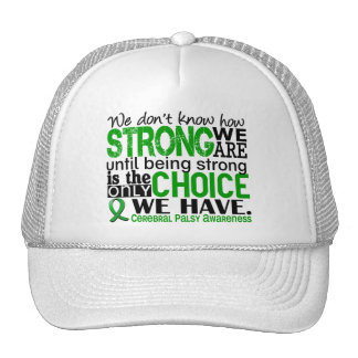 Cerebral Palsy How Strong We Are Mesh Hats