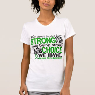 Cerebral Palsy How Strong We Are T Shirt