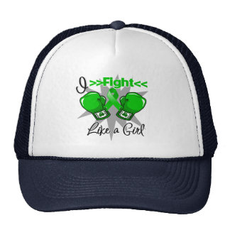 Cerebral Palsy I Fight Like a Girl With Gloves Trucker Hat