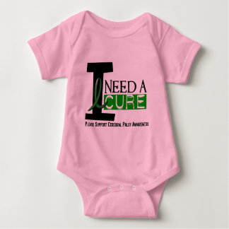 Cerebral Palsy I NEED A CURE 1 Baby Bodysuit