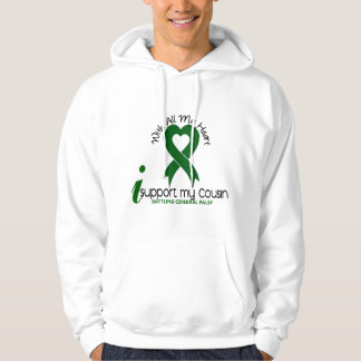 Cerebral Palsy I Support My Cousin Hooded Sweatshirt