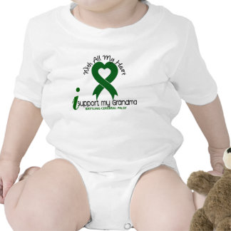 Cerebral Palsy I Support My Grandma Tshirt