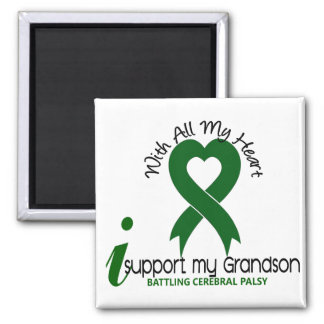 Cerebral Palsy I Support My Grandson Magnet