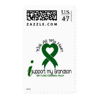 Cerebral Palsy I Support My Grandson Postage Stamp