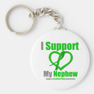 Cerebral Palsy I Support My Nephew Keychains