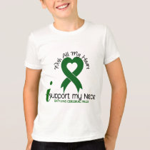 Cerebral Palsy I Support My Niece T-Shirt