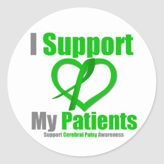 Cerebral Palsy I Support My Patients Stickers