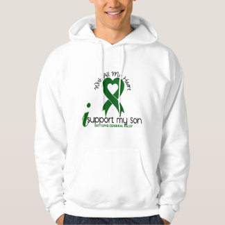 Cerebral Palsy I Support My Son Hooded Pullover