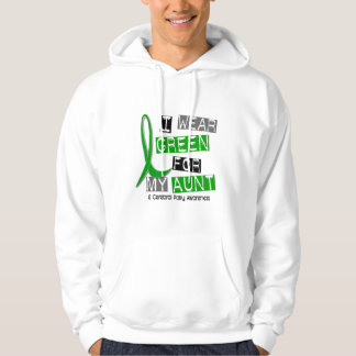 Cerebral Palsy I Wear Green For My Aunt 37 Hooded Pullovers