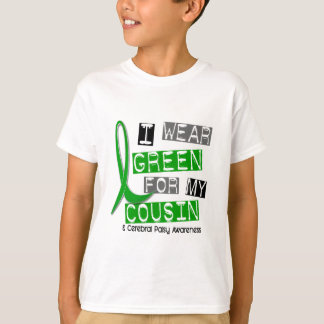 Cerebral Palsy I Wear Green For My Cousin 37 T-Shirt