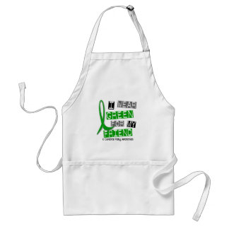 Cerebral Palsy I Wear Green For My Friend 37 Adult Apron