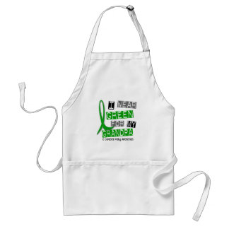 Cerebral Palsy I Wear Green For My Grandpa 37 Adult Apron