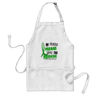 Cerebral Palsy I Wear Green For My Grandson 37 Adult Apron