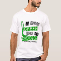 Cerebral Palsy I Wear Green For My Grandson 37 T-Shirt