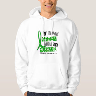 Cerebral Palsy I Wear Green For My Husband 37 Pullover