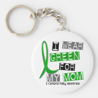 Cerebral Palsy I Wear Green For My Mom 37 Key Chains
