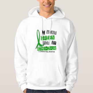 Cerebral Palsy I Wear Green For My Mother-In-Law Hooded Sweatshirt