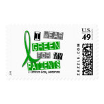 Cerebral Palsy I Wear Green For My Patients 37 Stamp