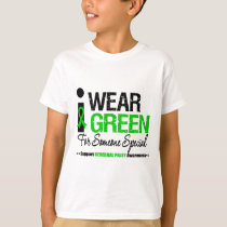 Cerebral Palsy I Wear Green For Someone Special T-Shirt