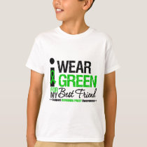 Cerebral Palsy I Wear Green Ribbon For Best Friend T-Shirt