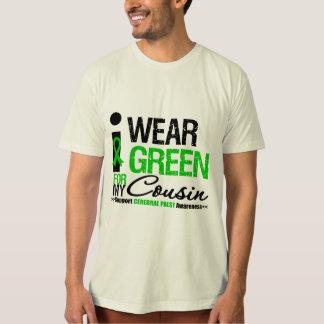 Cerebral Palsy I Wear Green Ribbon For My Cousin Tshirts