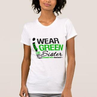 Cerebral Palsy I Wear Green Ribbon For My Sister T Shirt