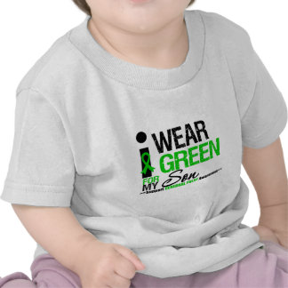Cerebral Palsy I Wear Green Ribbon For My Son Tee Shirts