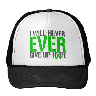 Cerebral Palsy I Will Never Ever Give Up Hope Hat