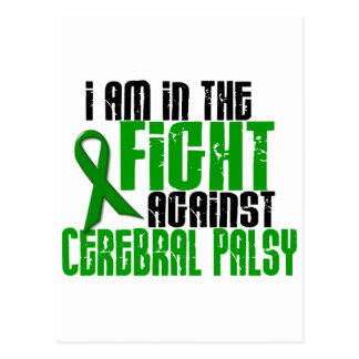 Cerebral Palsy In The Fight 1 Postcard