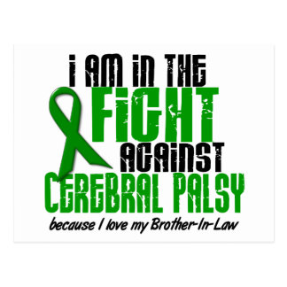 Cerebral Palsy In The Fight For My Brother-In-Law Postcard
