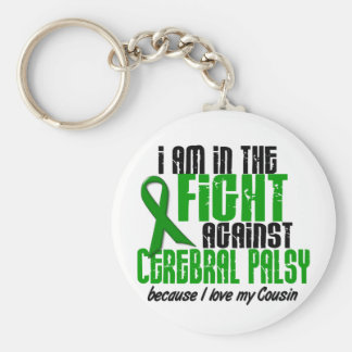 Cerebral Palsy In The Fight For My Cousin 1 Key Chains