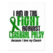 Cerebral Palsy In The Fight For My Cousin 1 Postcard