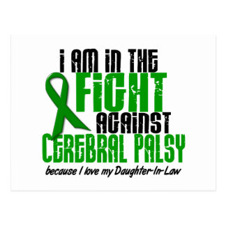 Cerebral Palsy In The Fight For My Daughter-In-Law Postcard