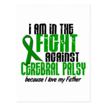 Cerebral Palsy In The Fight For My Father 1 Postcard
