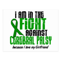 Cerebral Palsy In The Fight For My Girlfriend 1 Postcard