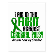Cerebral Palsy In The Fight For My Grandma 1 Postcard