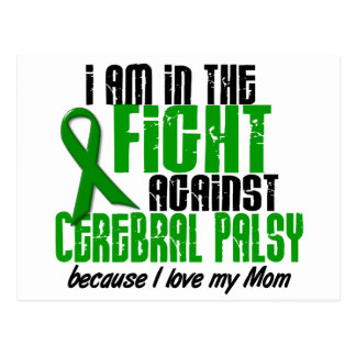 Cerebral Palsy In The Fight For My Mom 1 Postcard