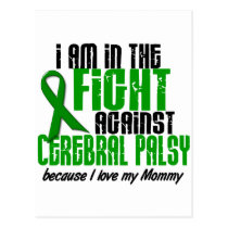 Cerebral Palsy In The Fight For My Mommy 1 Postcard